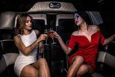 Fotografie Holky, párty v limuzíně