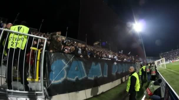 Rijeka, Horvátország - December 07: Foci matchday 6, D-csoport, Európa-Liga Hnk Rijeka és az Ac Milan a December 07, 2017 között. Rijeka, Horvátország.