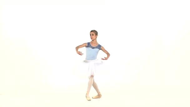 schöne Balletttänzerin, Zeitlupe