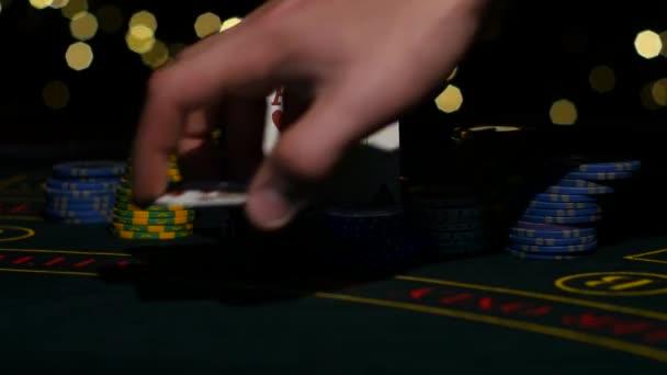 Kombinace pokeru. Hráči pokeru rukou opeh jeho kombinace poker poker. Detailní záběr