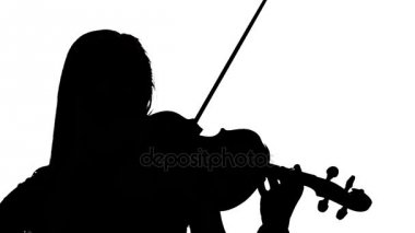 Violinist Silhouette Stock Videos Royalty Free Violinist