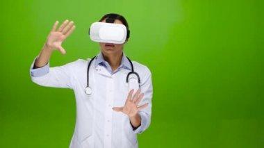 Zobrazení lékařské souborů pomocí virtuální realita brýle