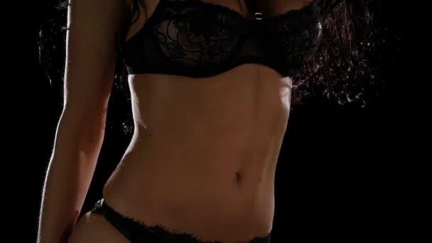 крупным планом в бикини видео
