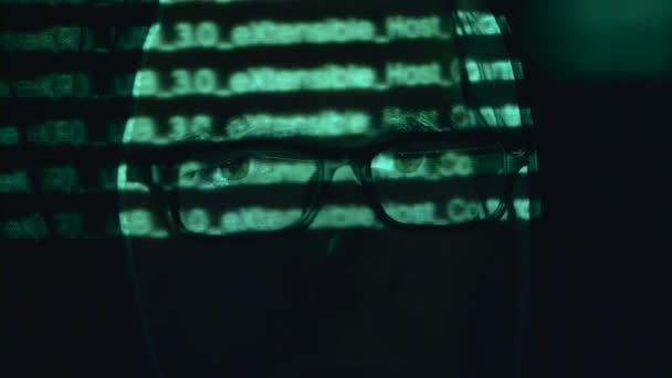 Spy je hacking webové stránce cyberpolicy. Detailní záběr