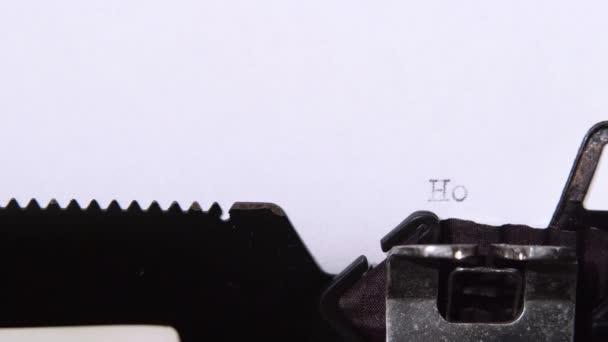 Slovo je jak můj kousek papíru. Detailní záběr