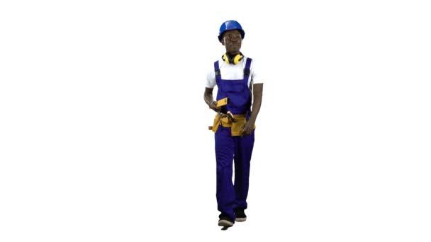 Afro-amerikai mérnök azt a lélek szintjén a kezében lesz. Alfa-csatorna