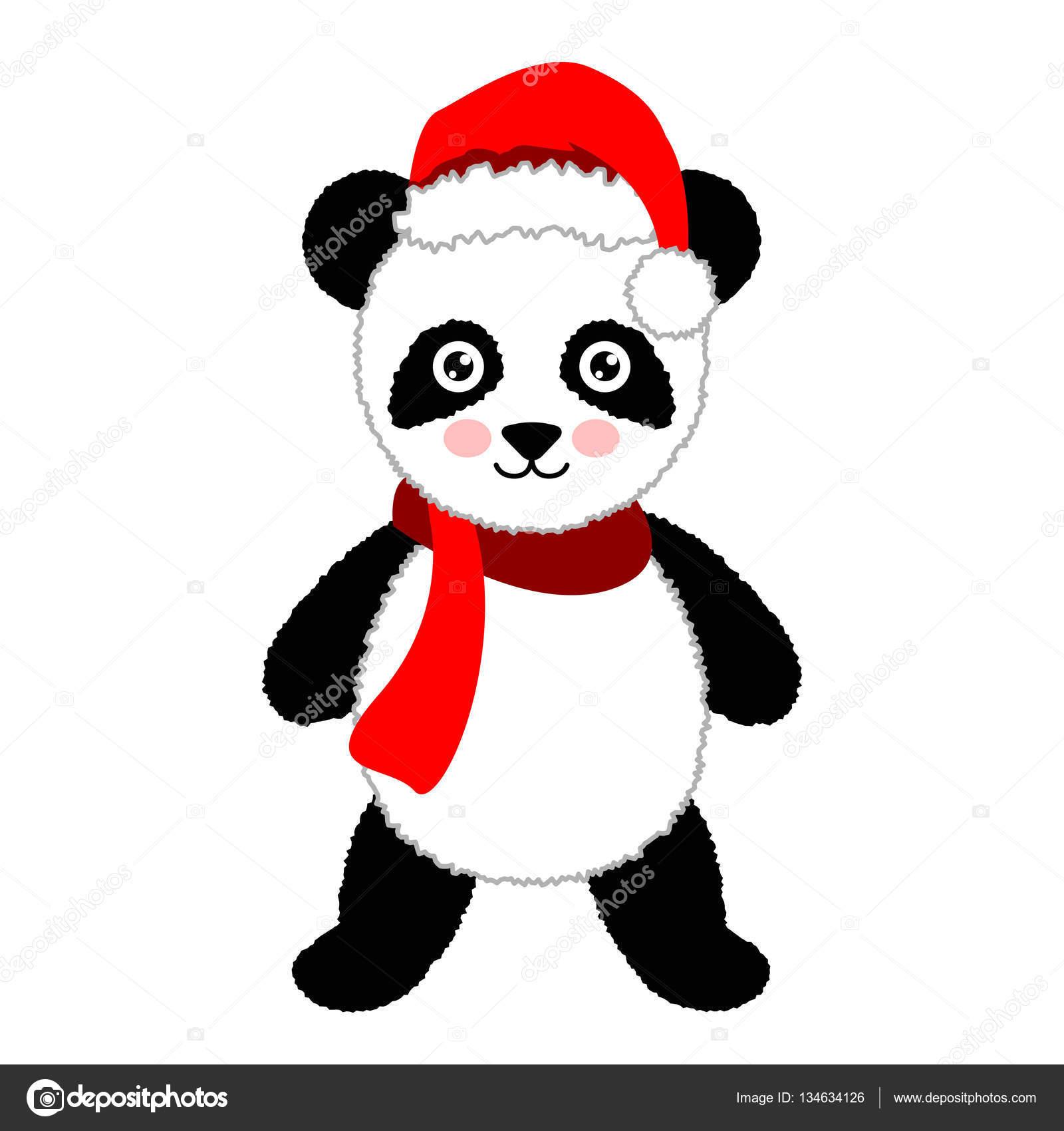 Image bonnet de noel dessin - Dessins de panda ...