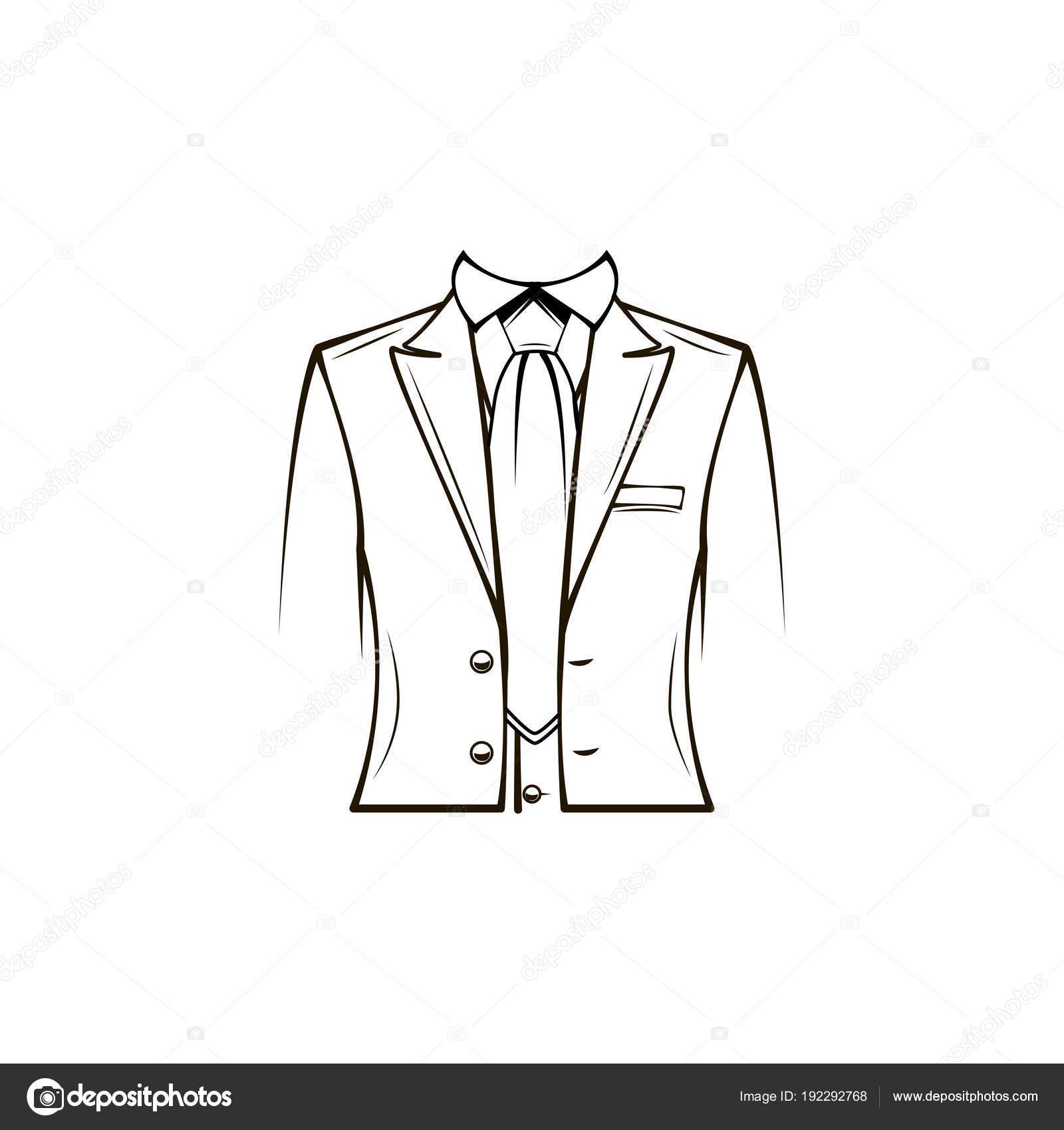 Mantel, Anzug, Krawatte, Smoking zu kleiden. Bräutigam Hochzeit ...
