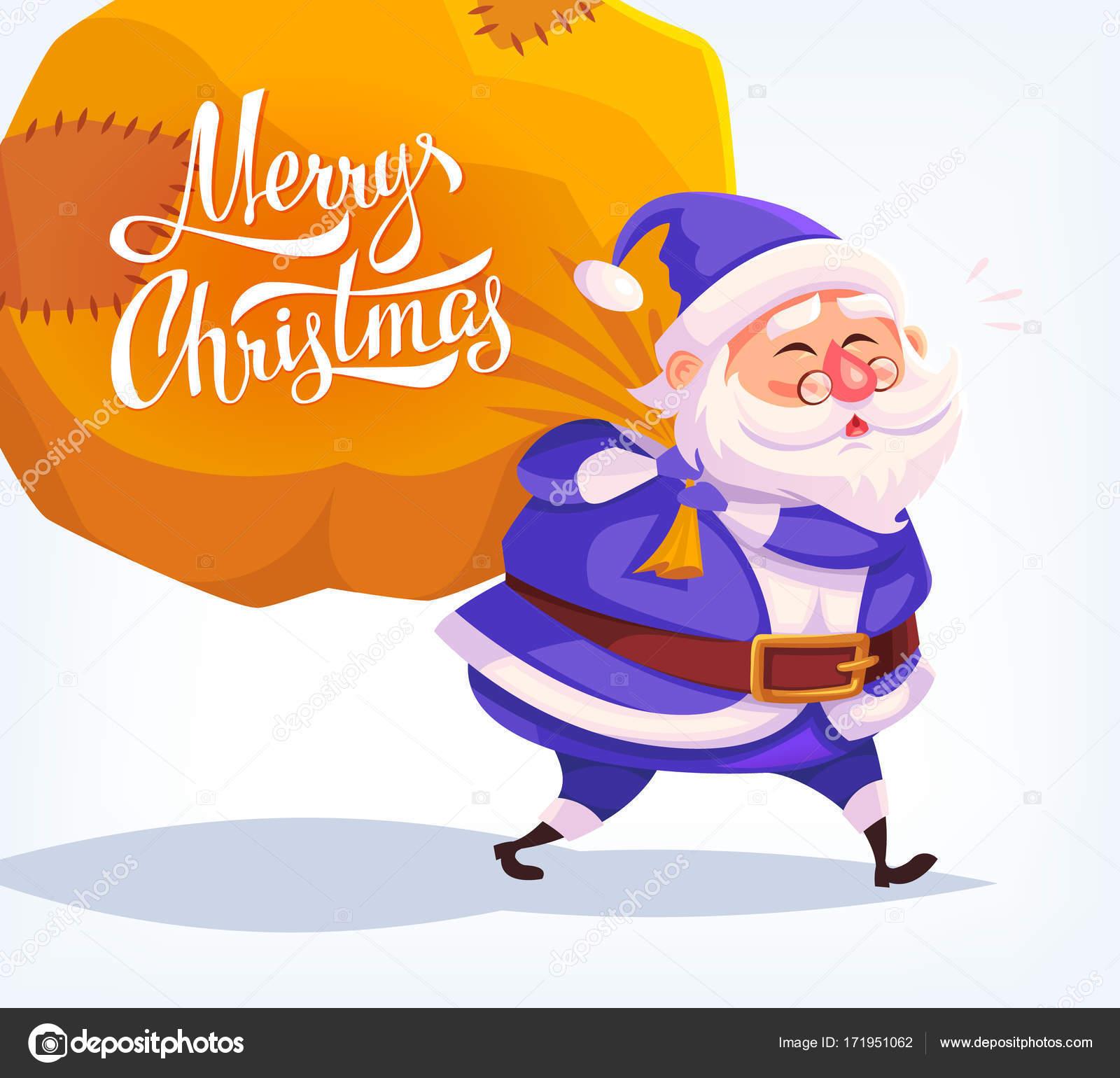 Bleu Mignon Dessin Animé Costume Père Noël Cadeaux Livraison