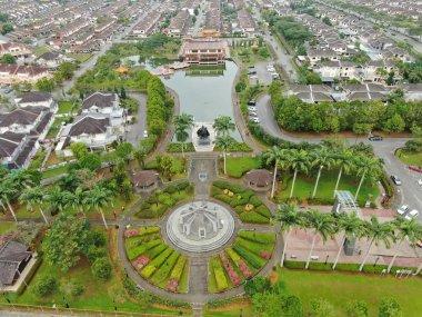 Kuching, Sarawak / Malaysia - November 8 2019: The buildings, landmarks and scenery of Kuching city, capital of Sarawak, Borneo island. Showing the famous landmarks in the Kuching city