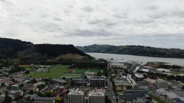 Dunedin, Otago / New Zealand - December 29, 2019: The Majestic Coast View of the Dunedin city New Zealand and rural areas