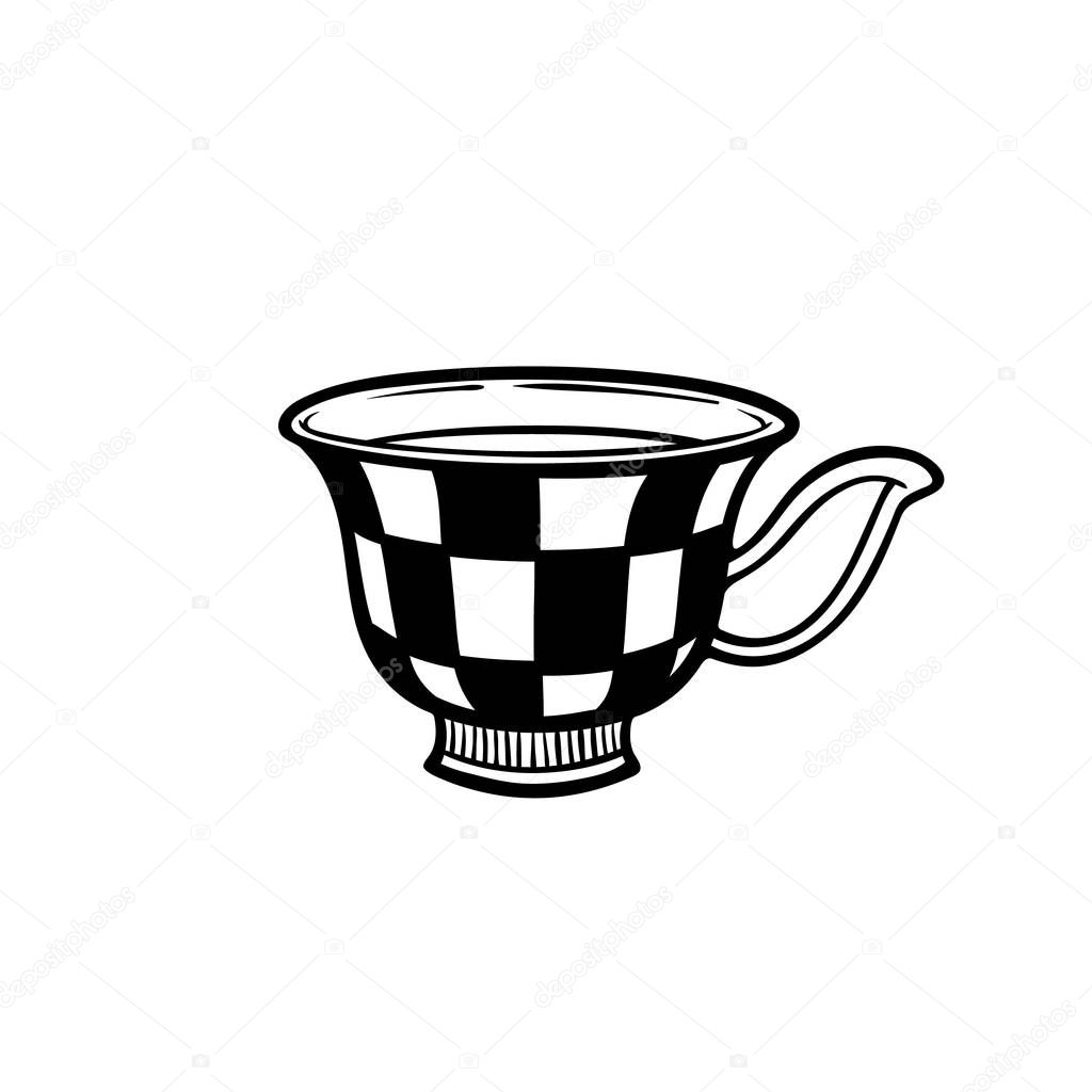 Hand Drawn Cup Stock Vector Illustration On White Isolated Cute Mug Morning Mood Doodle Vector Mug Premium Vector In Adobe Illustrator Ai Ai Format Encapsulated Postscript Eps Eps Format