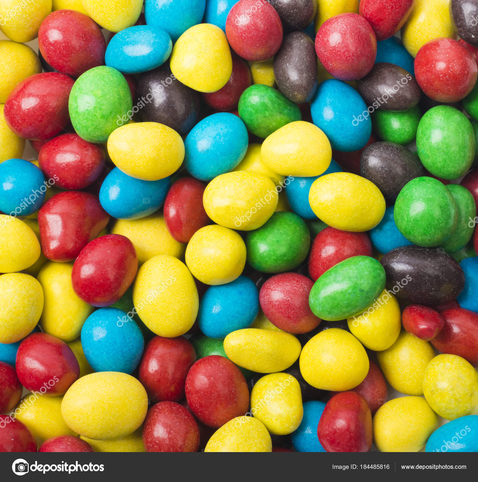 close colorful candies texture background rainbow colorful