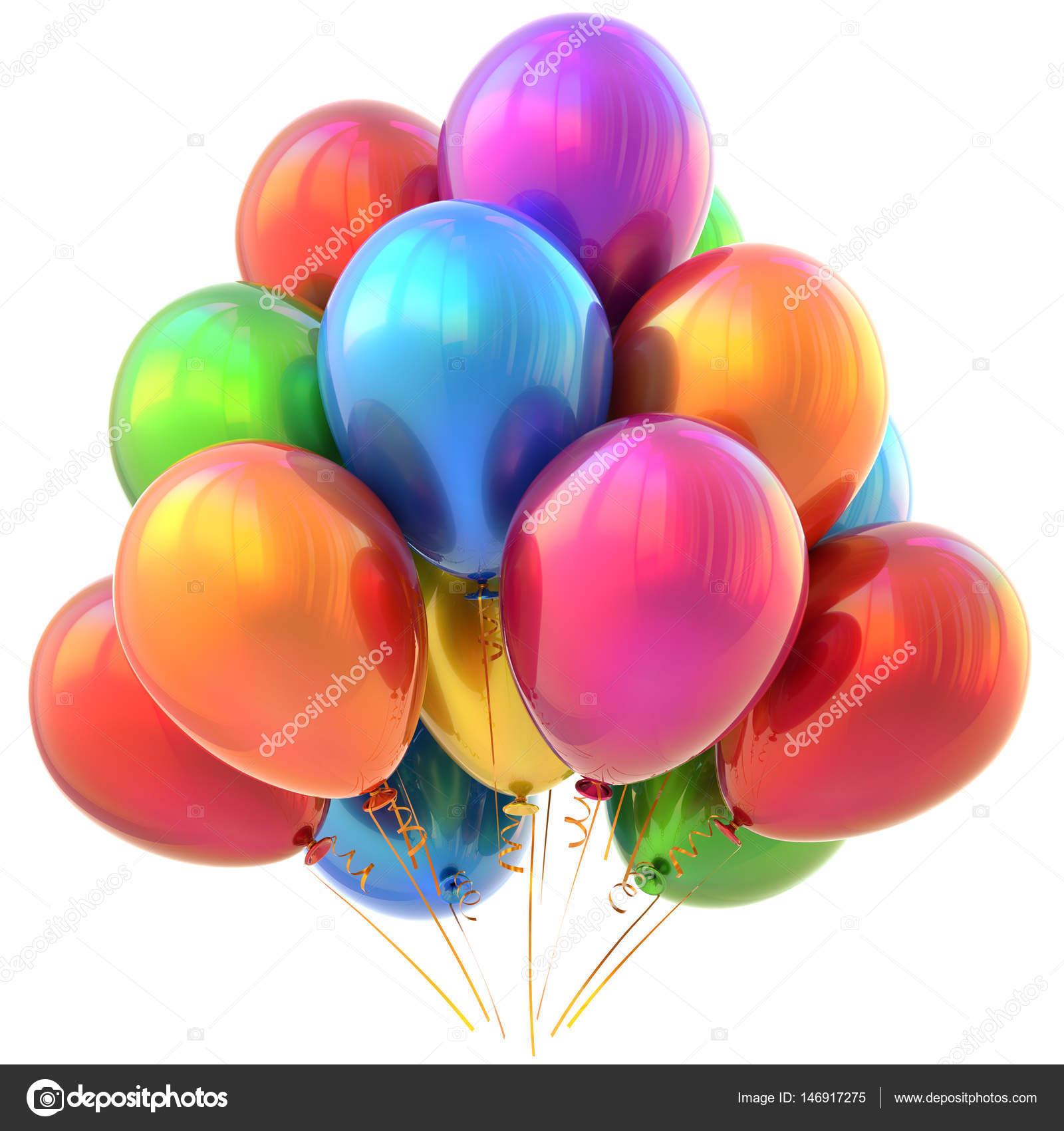 Feest Ballonnen Gelukkige Verjaardag Carnaval Decoratie Glossy