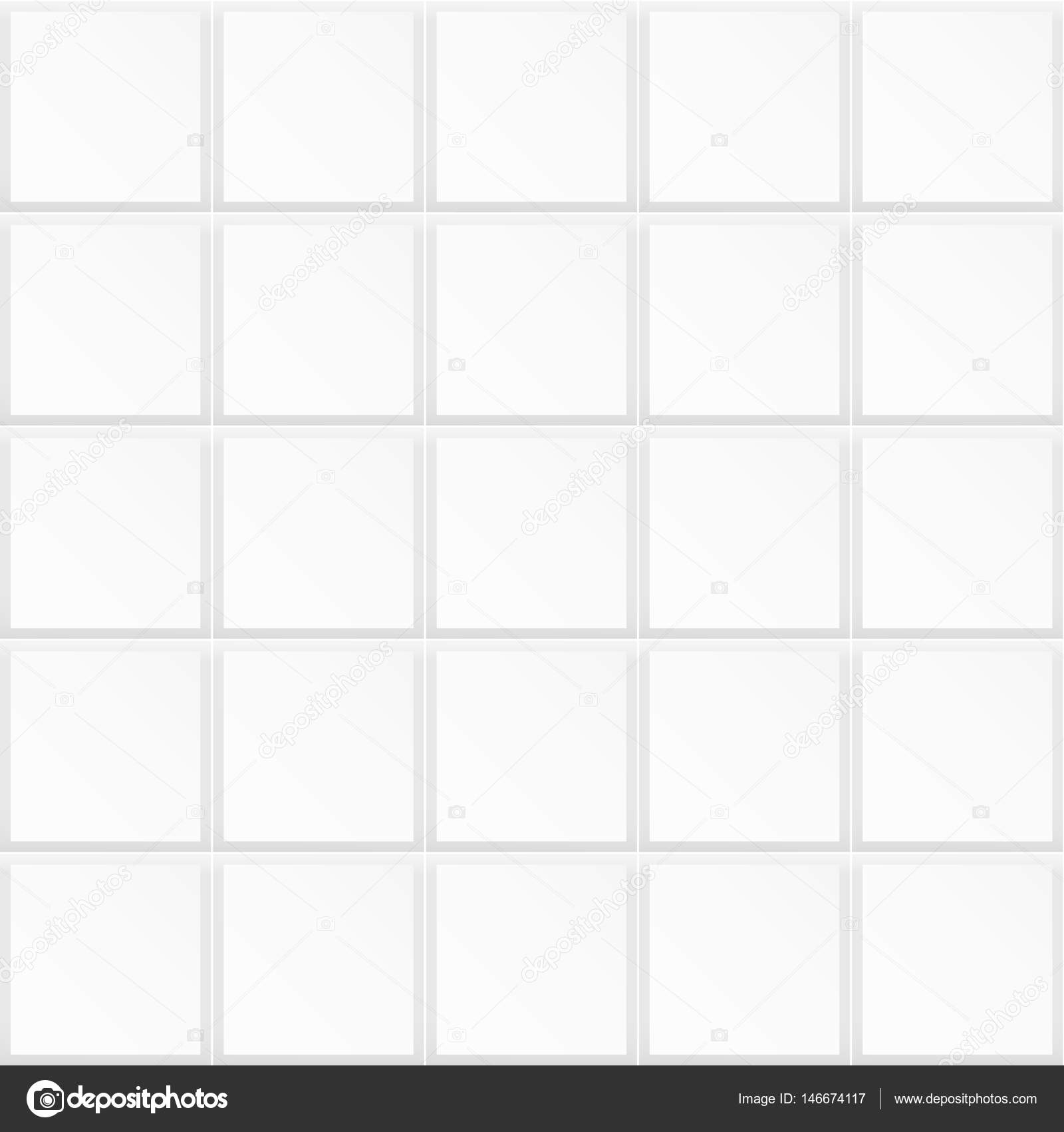 Kitchen Tile Texture White: Stock Vector © Sheunw