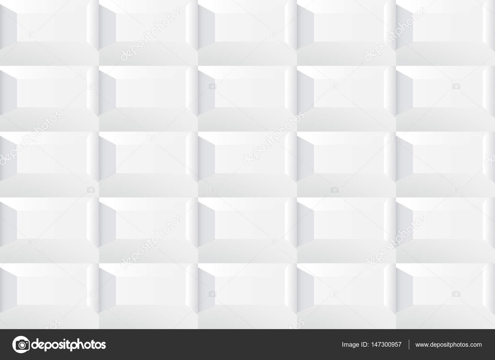 Struttura in ceramica bianca delle mattonelle u vettoriali stock