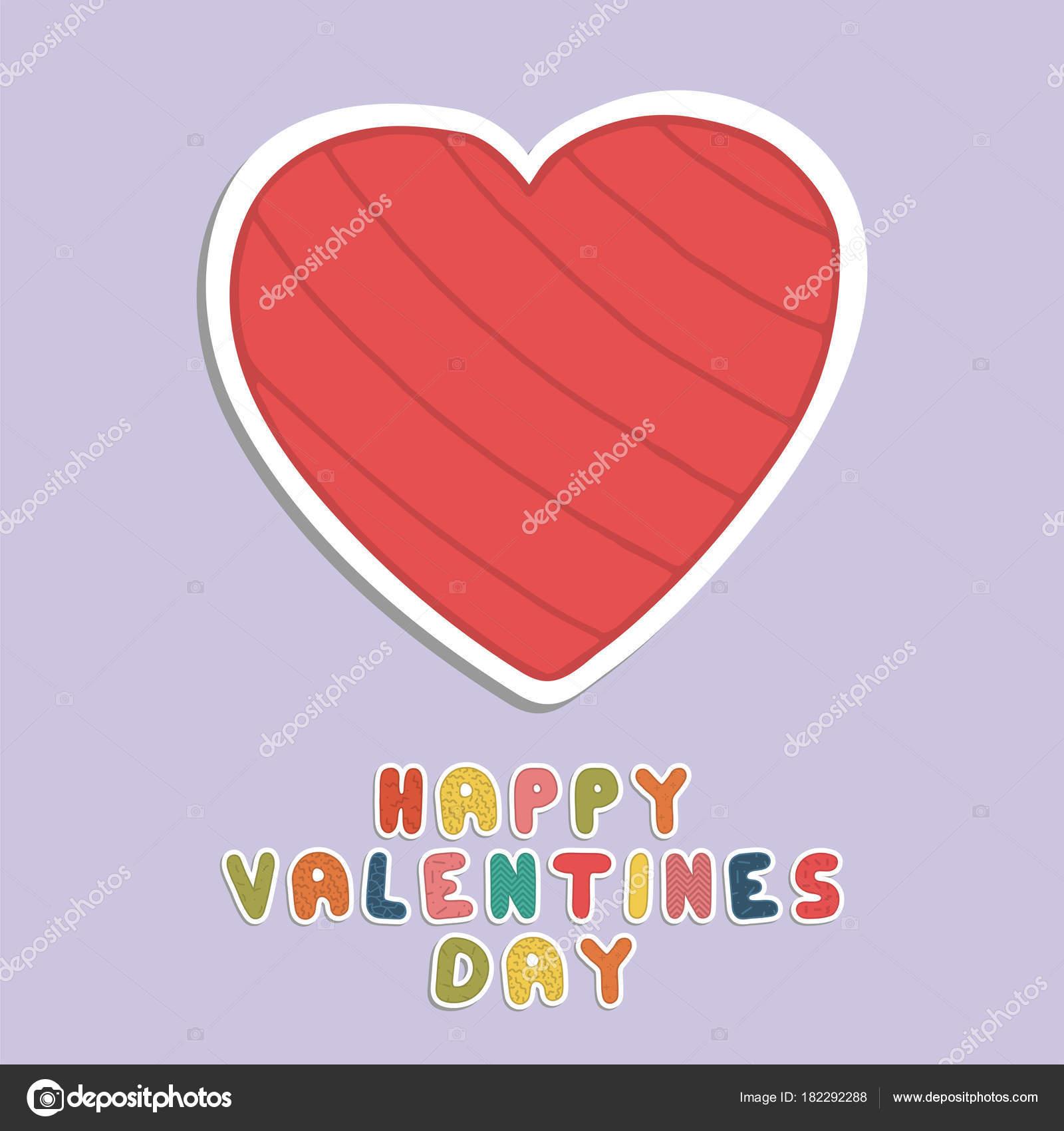 Feliz Dia Dos Namorados Cartão Fundo De Férias Com Coração