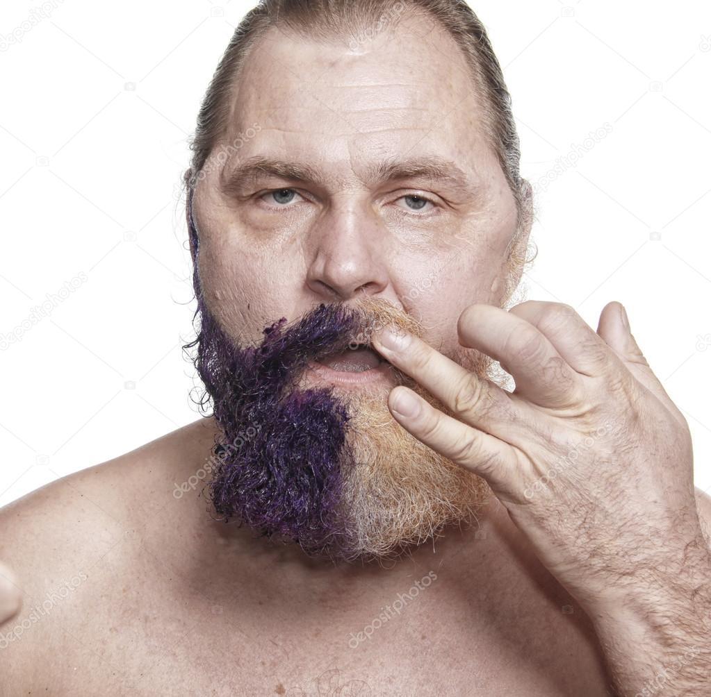 färga skägg med ögonbrynsfärg