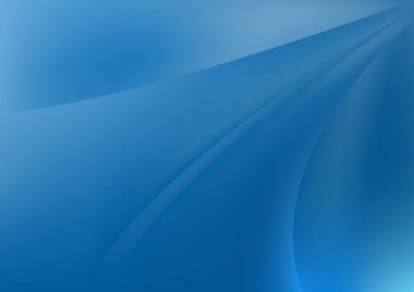 Blue Turquoise Dynamic Background Vector Illustration Design