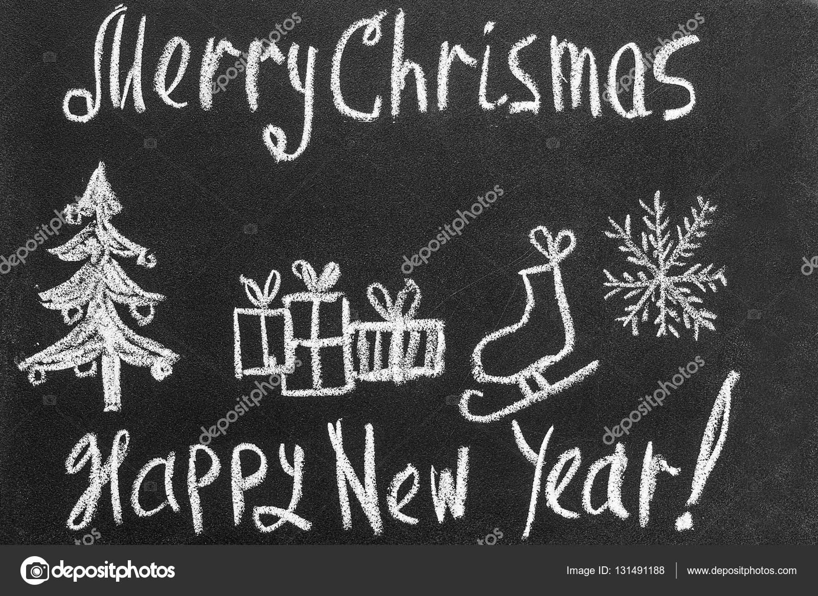Tafel Weihnachten und neues Jahr wünschen. Herzlichen Glückwunsch ...