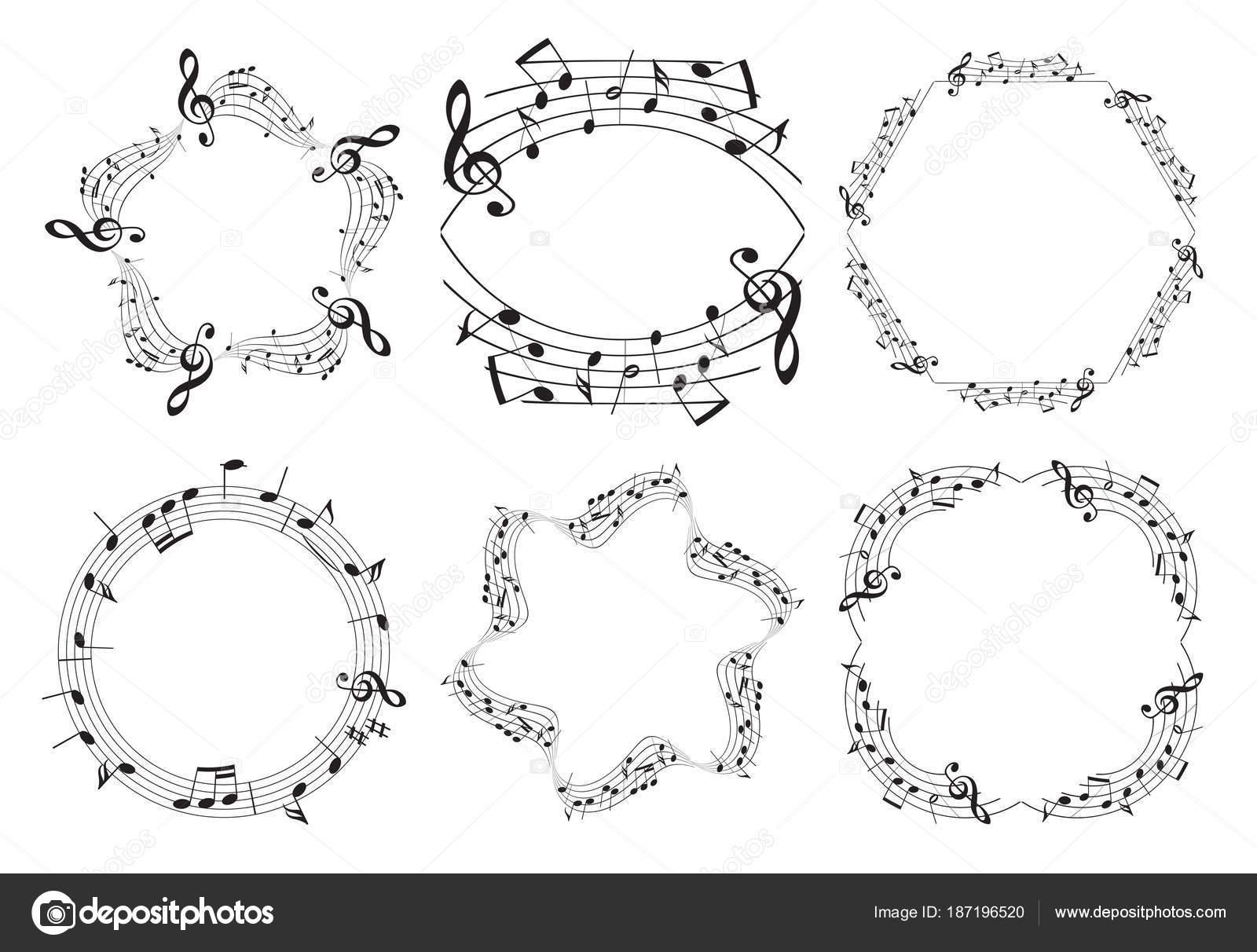 Musik Bilder - schöne Vektor-Satz — Stockvektor © olena-design ...