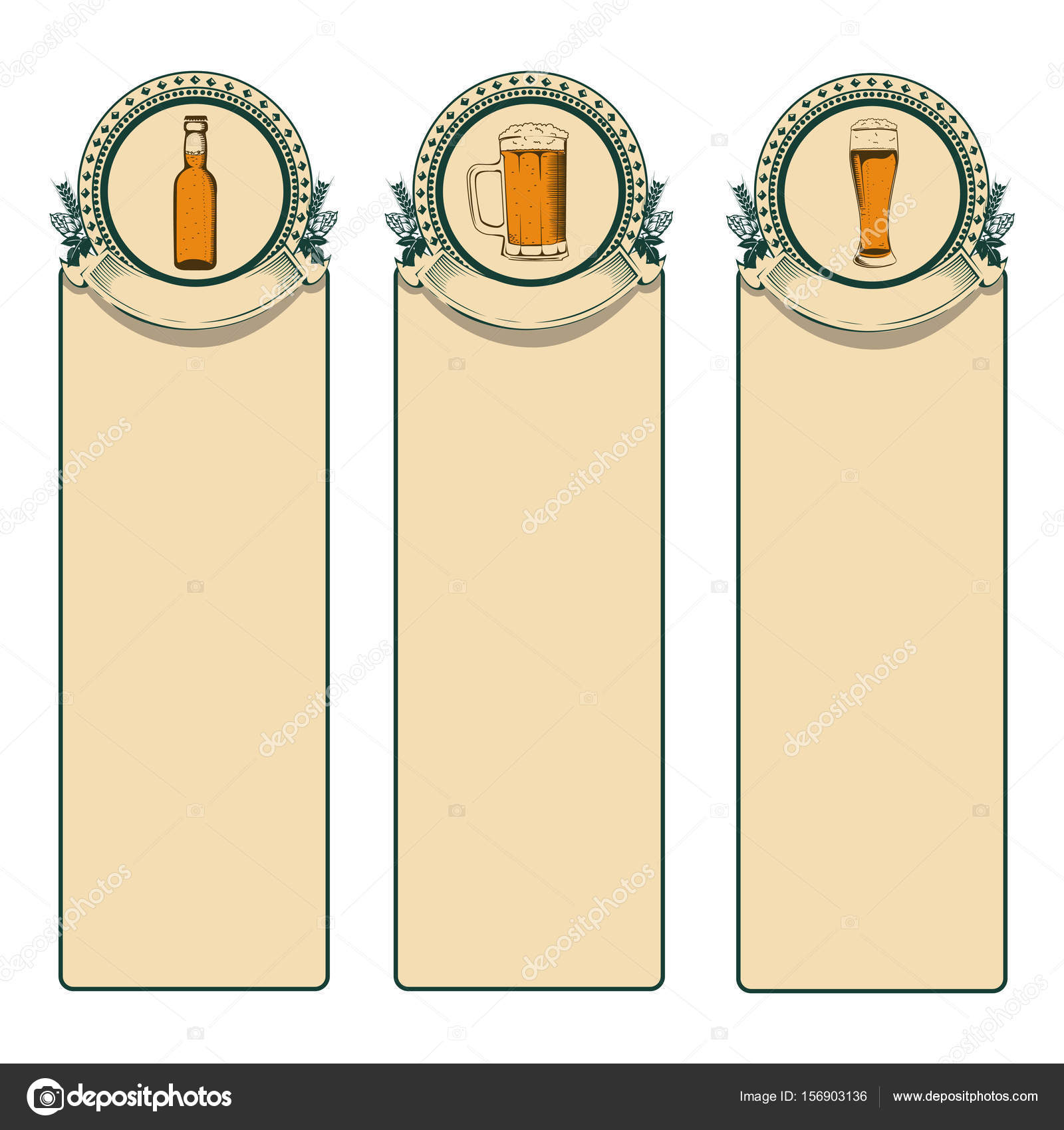Vintage beer frame — Stock Vector © Liana2012 #156903136