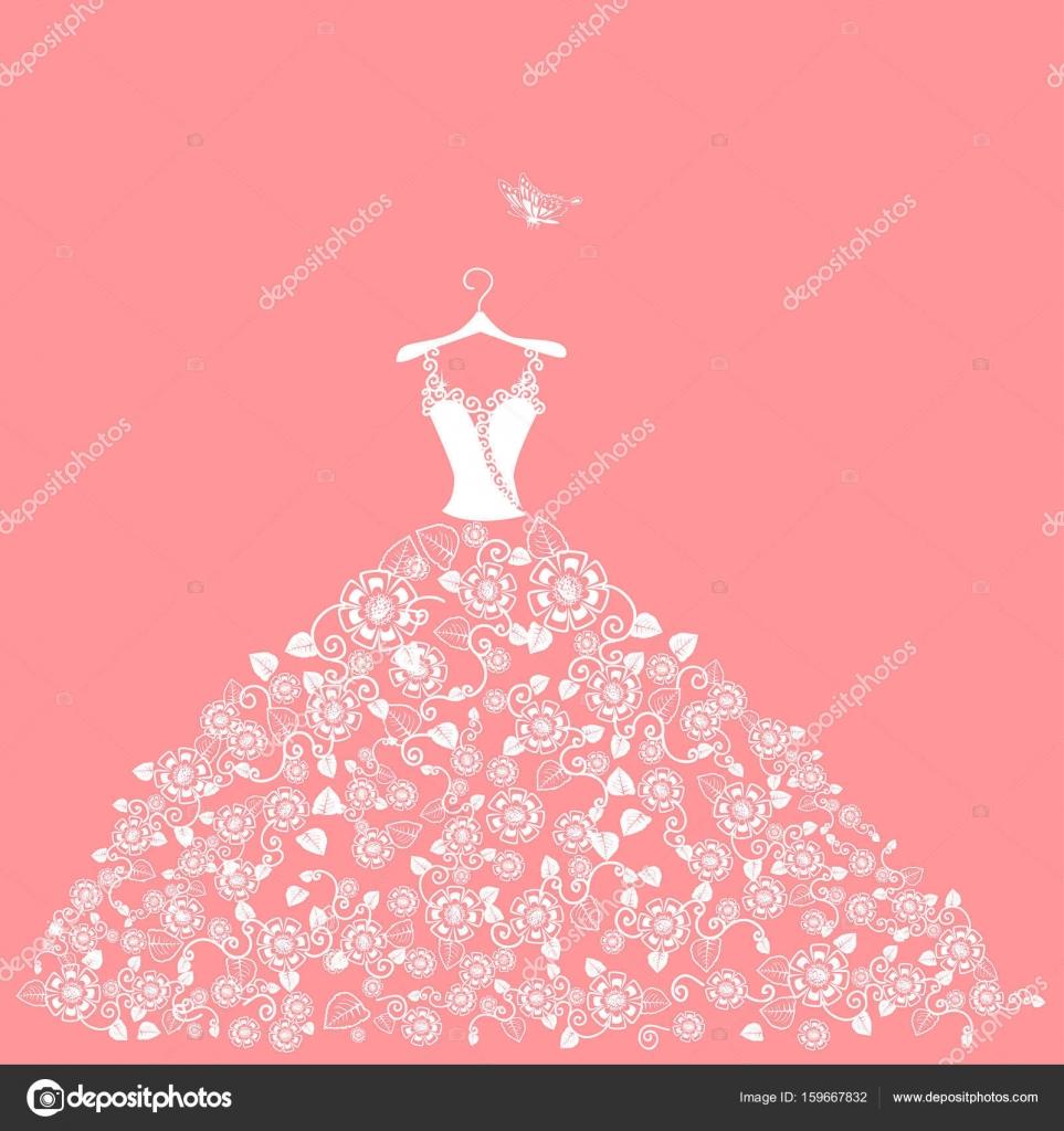 Vistoso Señora Percha Para Vestido De Novia Festooning - Ideas de ...