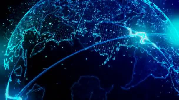 4k Bella Terra Loop Video Senza Soluzione Di Continuità Per Il