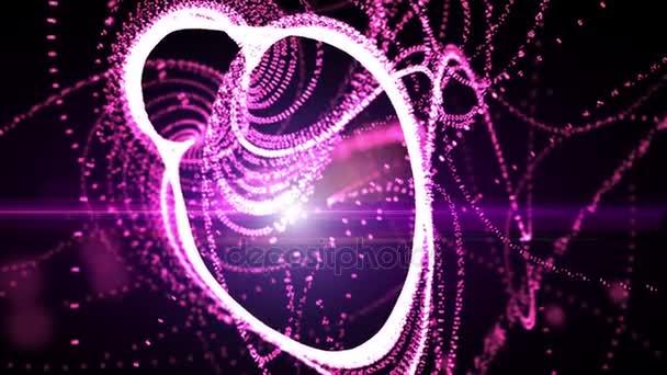Senza cuciture rosa peccare movimento astratto