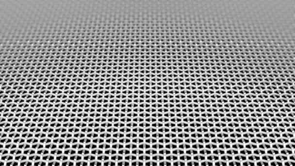 Abstract Surface metal Wave grid DOF able to loop