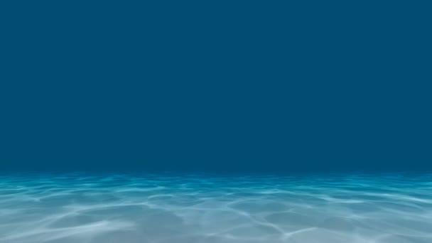 Vodní textura s lomem slunečního světla animace