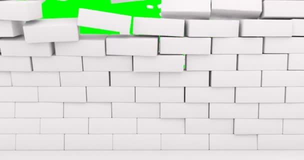 White bricks cracked for wallpaper design. White light texture background. Dirty cracked wall texture. White cement wall background. Old cement texture. Grunge rectangle background.
