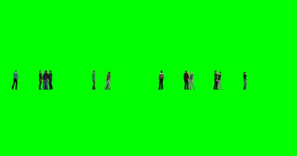 People on green background on green background. Happy business people. Businessman person. Multi-ethnic group. Multi racial. Multi color background.