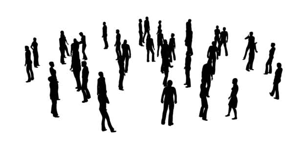 Collection with silhouettes people white on white background. Businessman, businesswoman people group standing together. Young caucasian white businessman set. Black outline. Business team.