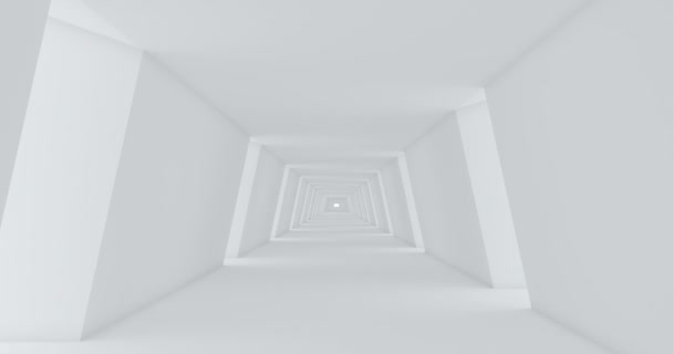 3d white tunnel on white background. Background 3d. Tunnel abstract. Futuristic concept. Space tunnel. White background. Modern city. 3d render. Long tunnel.