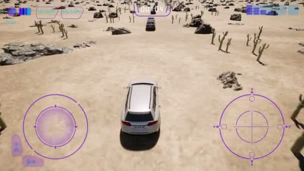 Wüste 3d fake car game, Iot auto, Autopilot car gps