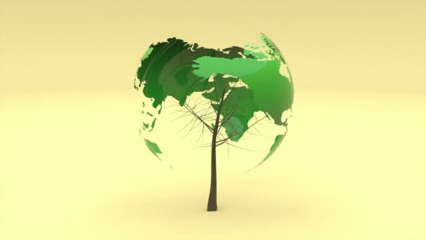 3d earth day for concept design. Concept eco earth day. Able to loop seamless