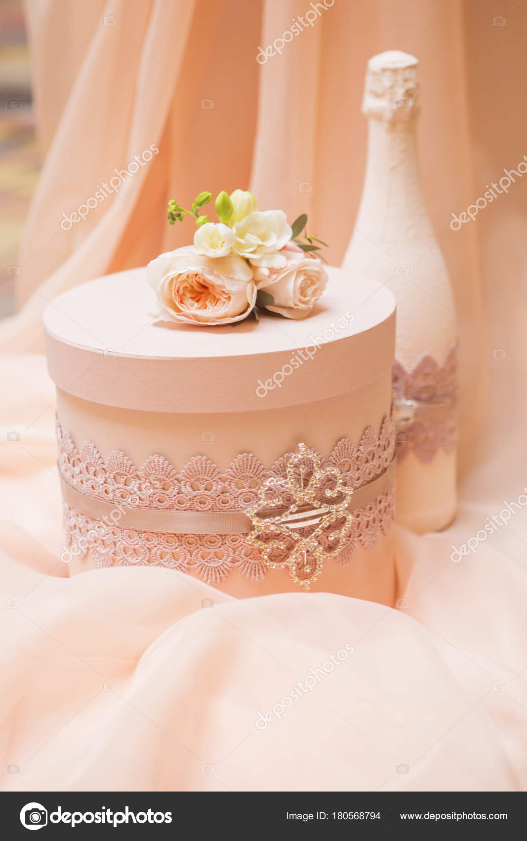 wedding arch decor full rose eustoma flowers candles peach colored