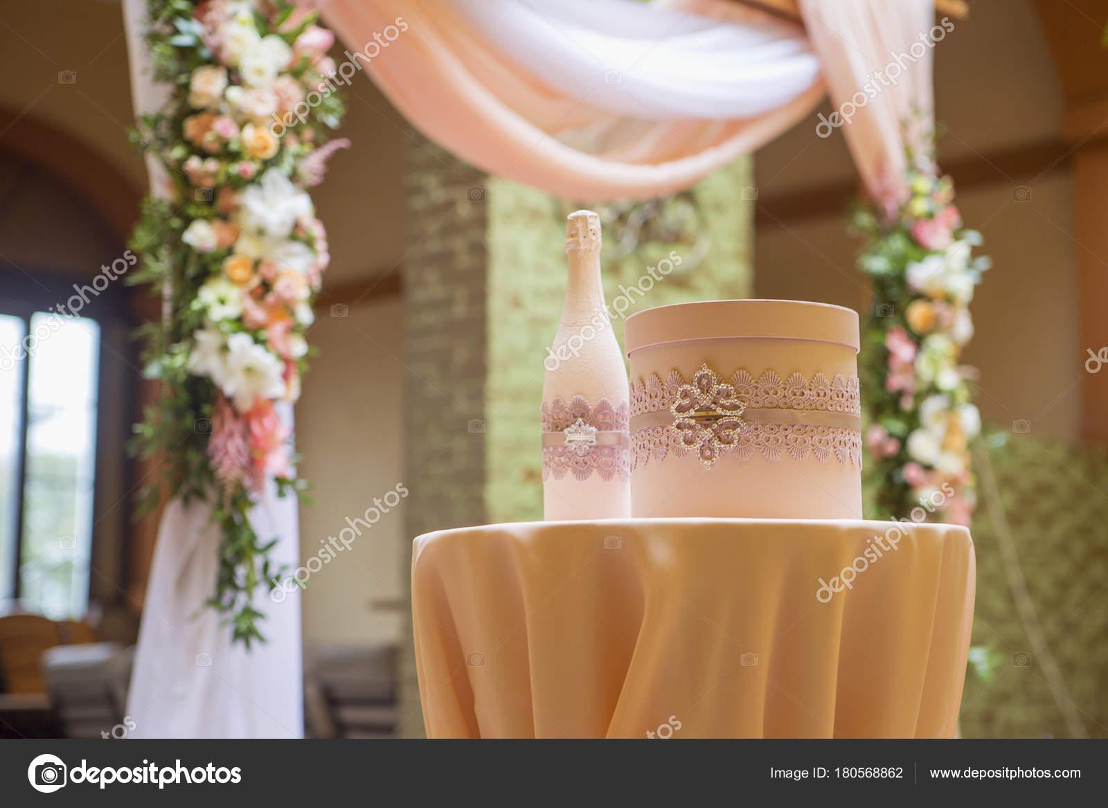 Wedding arch decor full rose eustoma flowers candles peach colored wedding arch decor full of rose and eustoma flowers candles and peach colored fabric luxury rich restaurant interior indoor junglespirit Images