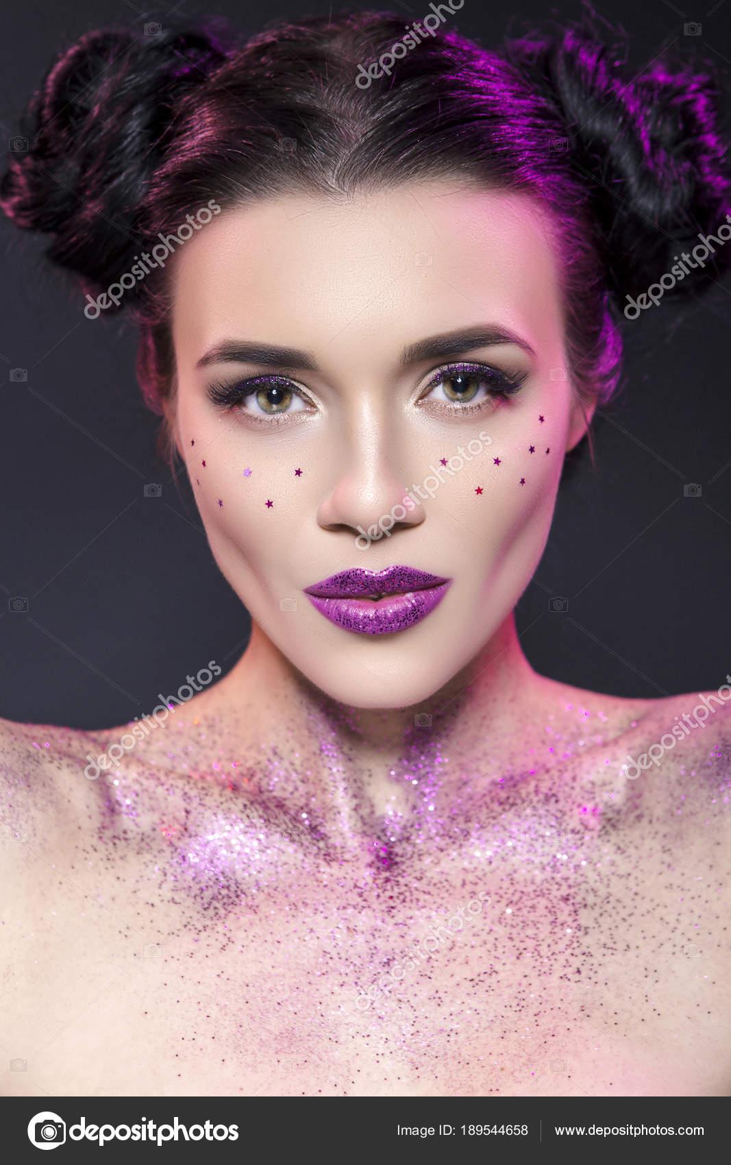 Hautnah Beauty Portrait Von Einem Fantasy Kunst Thema Star Wars