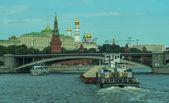 Moskva. Navigace na řece Moskva