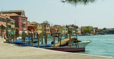 18.04.2019.  Italy. Venice. View of the island of Murano.