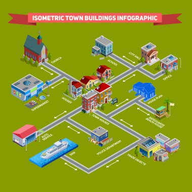 Isometric City Infograhic