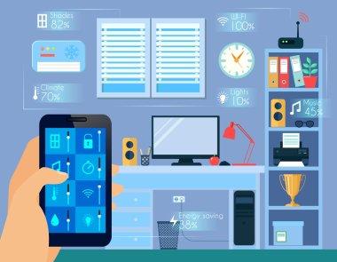 Smart Home Concept Illustration
