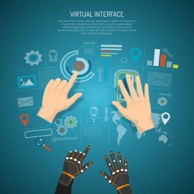Virtual Interface Design Concept