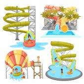 Színes Aquapark készlet