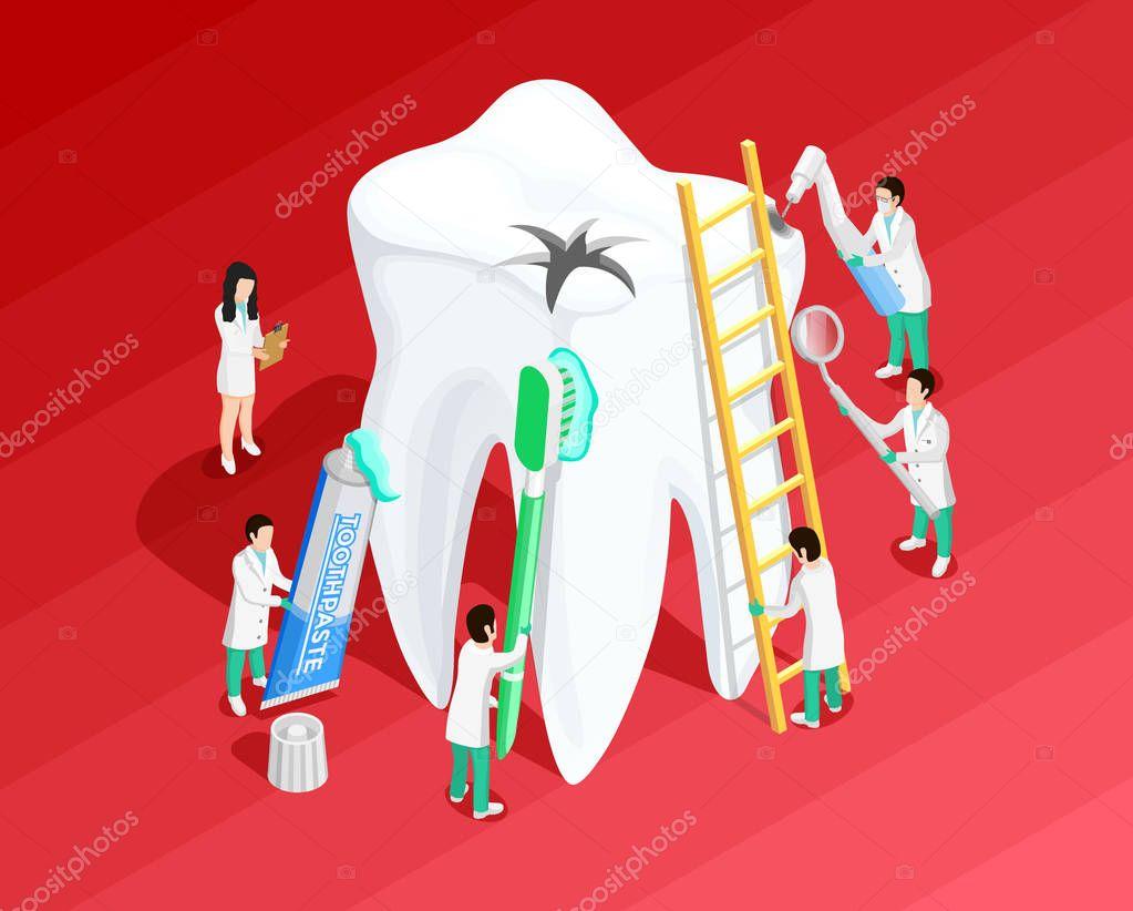 Medical Dental Isometric Template