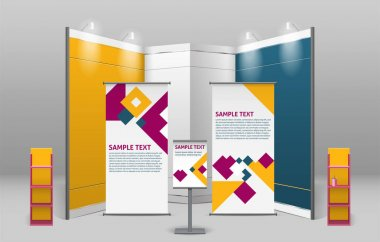 Advertising Exhibition Stand Design