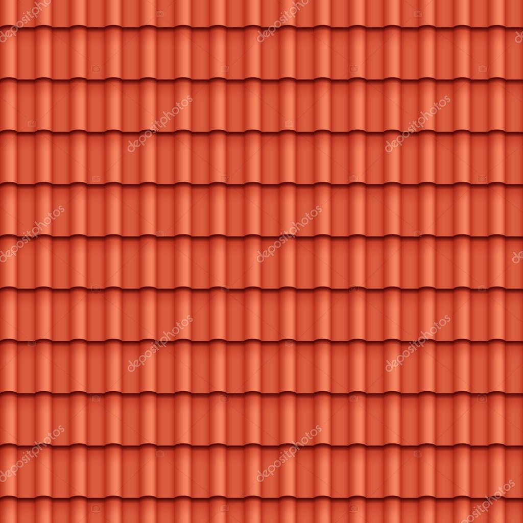 Roof Tile Seamless Pattern