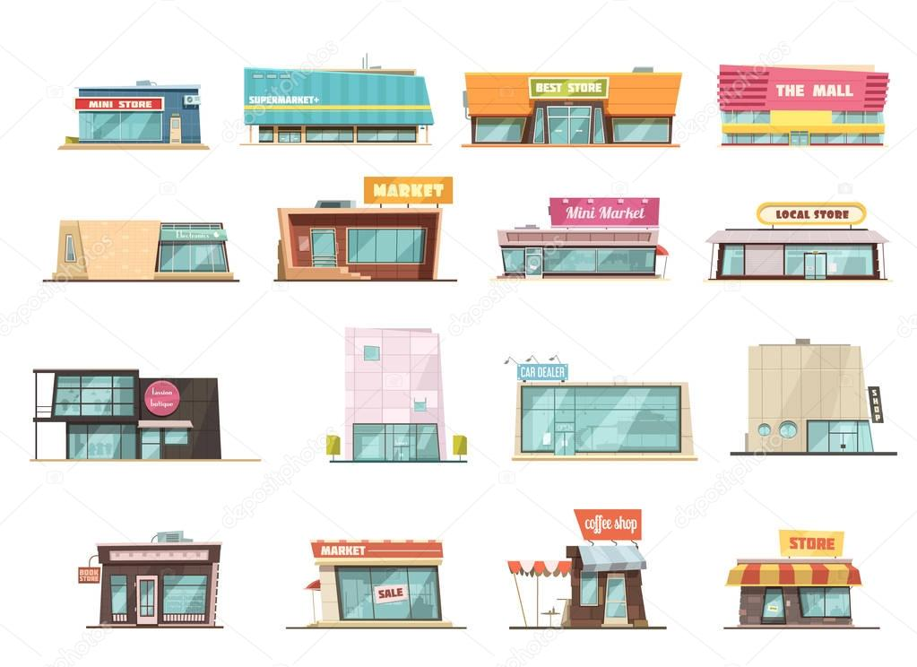 Shop Building Set
